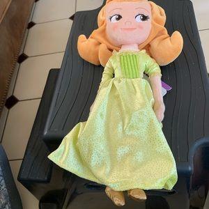 Disney Sofia the First Cloth Doll NWT